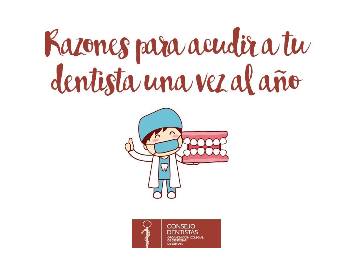 Por qué se debe acudir al dentista periódicamente